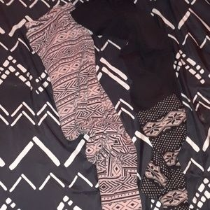 2 pairs of XXL leggings